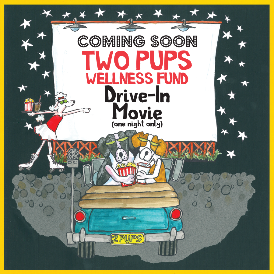 Drive in and Chow Down to Benefit Two Pups Wellness Fund